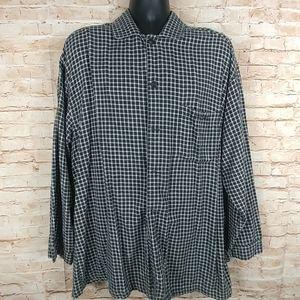Calvin Klein sleepwear 100% cotton checkered L